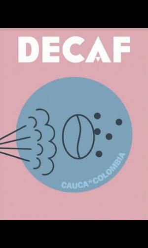 DECAF COLOMBIA CAUCA <br> espresso 250g