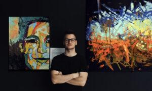 Wystawa obrazów Tomasza Masionka
