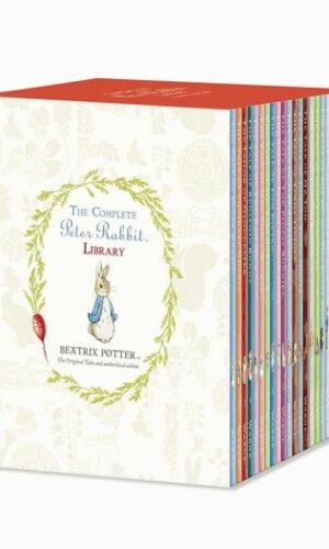 THE COMPLETE PETER RABBIT LIBRARY WITH 23 VOLUMES <br> Beatrix Potter