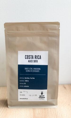 KOSTARYKA ALICE SOTO <br> Good Coffee micro roasters