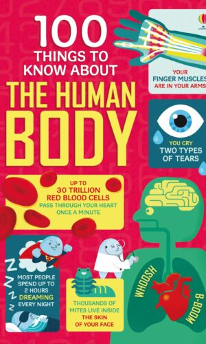 100 THINGS TO KNOW ABOUT HUMAN BODY<br> Usborne