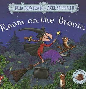 ROOM ON THE BROOM <br> Julia Donaldson, Axel Scheffler
