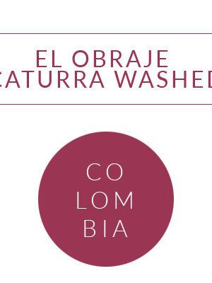 COLOMBIA EL OBRAJE CATURRA WASHED Coffee Grange <br> ziarno 250g