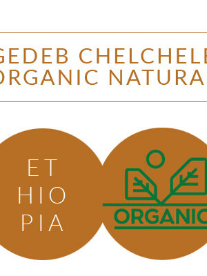 ETHIOPIA GEDEB CHELCHELE ORGANIC NATURAL Coffee Grange <br> ziarno 250g