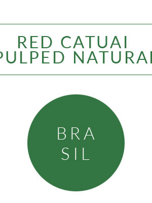 BRASIL RED CATUAI – PULPED NATURAL SITIO JOIA DA FORQUILHA Coffee Grange <br> ziarno 250g