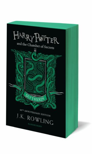 Harry Potter and the Chamber of Secrets Slytherin Edition<br>J.K. Rowling