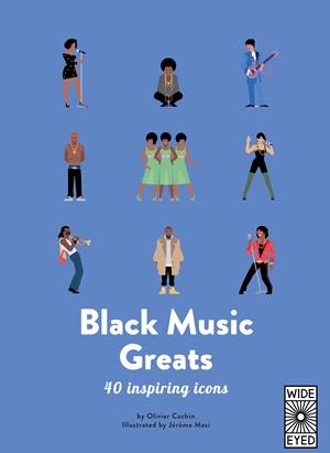 Black Music Greats 40 inspiring icons <br> Olivier Cachin, Jérôme Masi